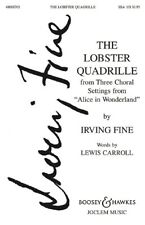 The Lobster Quadrille Fine  choral score female choir (SSA) and piano No. 1 from