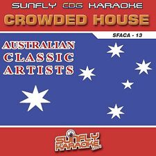 Sunfly Karaoke Australian Classic Artists Vol 13 - Crowded House (CD+G/CDG)