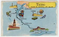 figurina SERIE ITALIA FIUMI PRINCIPALI LA FOLGORE N. 147 TICINO REC