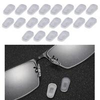 10Pair Occhiali da sole in silicone trasparente morbido Naselli Copri naselli