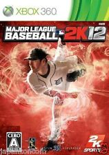 Used Xbox 360  League Baseball 2K12 MICROSOFT JAPAN JAPANESE JAPONAIS IMPORT