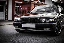schwarz glänzende Nieren 7er BMW E38 Limousine salberk 3801 Frontgrill XL Look