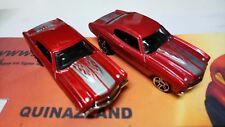 Rare 2 Hot Wheels 1970 Chevrolet Chevelle SS Variation Couleur 2006-086 (B48)