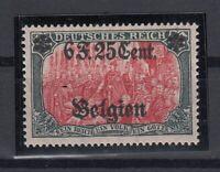 B2564/ BELGIUM GERMAN OCC – MI # 25 II MINT MNH – CV 330 $