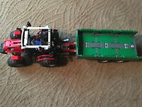 Lego Technic Tractor with Trailer (8063) Complete