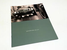 1997 Mercedes-Benz C E S SL-Class 1998 SLK Full Line Preview Brochure