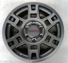 """17"""" 17INCH TOYOTA STYLE SR5 TRD STYLE BLACK WHEELS ONLY HILUX FJ 6/139"""