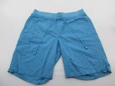 Gloria Vanderbilt Sh677 Size 10 Women's Navy stretchy 98% Cotton Draw String Sho