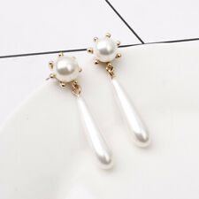 Fashion Baroque shell pearl Earrings Stud Drop Dangle Women Jewelry Earring