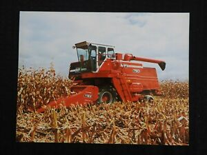 1980 MASSEY FERGUSON MF 750 760 MF750 MF760 COMBINE SPECIFICATIONS BROCHURE