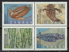 Canada #1279-1282 39¢ Prehistoric Life in Canada - 1 MNH