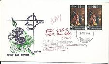 1969 Christmas FDC addressed to Australia Redirected Goldswort WA to Mt Isa Qld