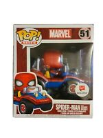 Funko Pop Rides Marvel Spiderman Mobile #51 Exclusive Walgreens box damage