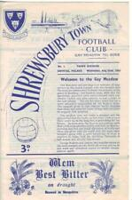 1962/63      Shrewsbury Town      v      Crystal Palace     Excellent