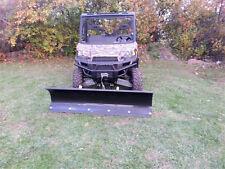 "Polaris Ranger XP900 and Full Size 570,  72"" Snow Plow SKU: 10864-11218-11226-12"