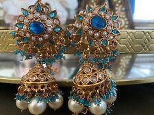Indian Bollywood Traditional Bridal Jodha  Akhbar Earrings