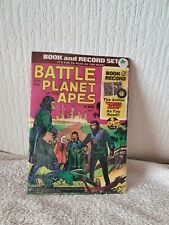 1973 BATTLE FOR PLANET OF THE APES -BOOK AND RECORD  NEW IN ORIGINAL PACKAGING
