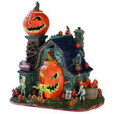 Lemax Spooky Town Halloween Animated The Mad Pumpkin Patch sights Sounds Lighted