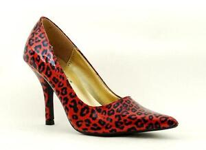 Demonia Gothic Sommer Pump Sizzle 02 Red