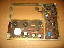 SEEBURG MODEL KD & L100---POWER AMP & AVC CIRCUIT BOARDS with FRAME--