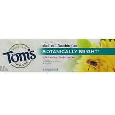 Tom's of Maine Botanically Bright, Peppermint 4.7 oz