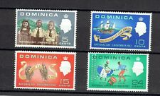 Dominica 1967 National Day MNH set SG# 205-208