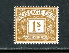 GREAT BRITAIN J73, 1969 1sh POSTAGE DUE, NO WMK, MNH   (GB135)