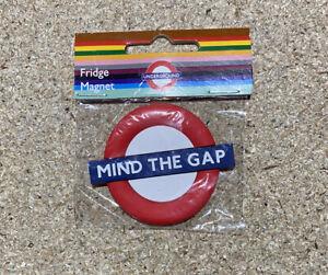 LONDON UNDERGROUND MIND THE GAP 3D FRIDGE MAGNET - AMAZING SOUVENIR
