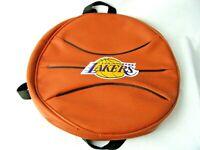 Vintage Los Angeles Lakers Basketball Backpack Vinyl RARE Wear to games