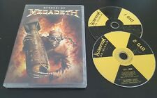 Arsenal Of Megadeth (DVD, 2006) music video collection Dave Mustaine metal RARE