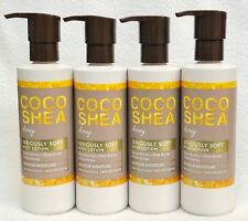 4 Bath & Body Works Coco Shea Honey Seriously Soft Body Lotion Pump Moisture