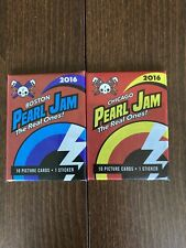 Pearl Jam Trading Cards (Lot Of 2) Boston Fenway Park Chicago Wrigley Field