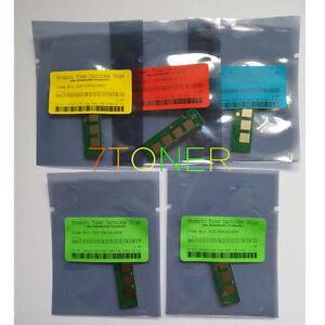 5 x Toner Chip For Samsung C410W C412W C413W C460FW C462W C463W CLT-406S K406S