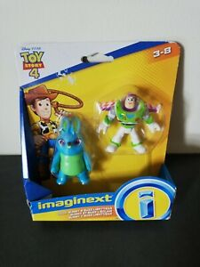 Imaginext Toy Story 4 Twin Figure Pack Bunny & Buzz Lightyear New Sealed