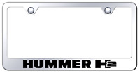 GF.CHR.EC Chrysler Mirrored Chrome Stainless Steel License Plate Frame