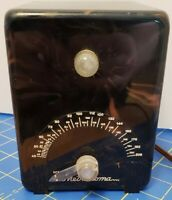 Vintage Crystal Research Crystalab Bakelite Metronoma Metronome
