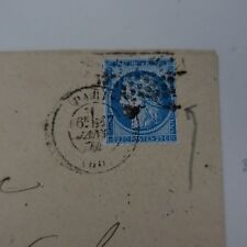 Cérès N° 60A Variety Letter Cover Variety Net Surround Is Broken & Quirky