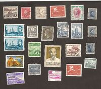 Interesting World Mix Stamps to Check Lot Monaco, Sweden, Island, Vietnam etc.