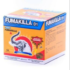 Mosquito Protection Fumakilla with 50 coil, protection last until 9 hours