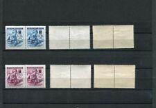 Postfrische echte Briefmarken aus Böhmen & Mähren (bis 1945) mit Rotes Kreuz-Motiv