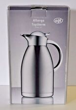 Alfi vacuum carafe Albergo TT stainless steel polished 2,0 l 16 cups NEW in box