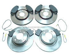 CITROEN C5 1.6 HDi ESTATE 2004-2008 FRONT & REAR BRAKE DISCS AND PADS SET NEW