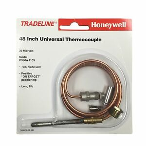 HONEYWELL Q390A1103 48 inch Thermocouple provides 30 mV output