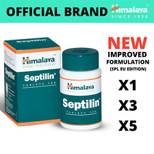 Himalaya SEPTILIN 100 to 500 Tabs | Natural Immune Booster for Cold & Allergies