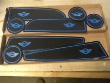MINI (R56) 2006 -2013 INTERIOR DASHBOARD MAT GATE PAD TRIM SET - (BLUE ONLY)