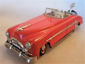 Distler 3200 Packard PKW Cabrio Blechauto m.Uhrwerk Blechspielzeug 50er Jahre