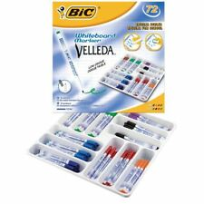 Bic Velleda 1721 White Board Marqueur Assorted (Pack of 72)