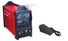 Inverter soudeur Jet tigiii AC/DC 250 PFC Plasma WIG/MMA/HF/Pulse/VRD Pédale