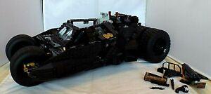 LEGO BATMAN THE TUMBLER 76023 Set Used NOT COMPLETE DC Comics Super Heroes