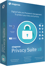 Steganos Privacy Suite 18 - license key - download (electronic shipment)
